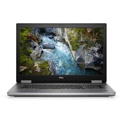 "Precision 7540, Intel Core i7-9850H, 15.6"" FHD, 16GB, 512GB SSD, nVidia Quadro T1000 4GB, Win10 Pro, Argintiu"