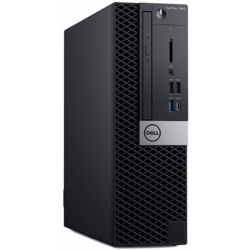 OptiPlex 7060 SFF, Core i5-8500, 8GB DDR4, 256GB SSD, Intel UHD 630, Win 10 Pro, Negru