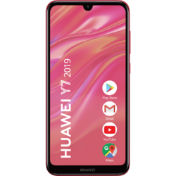 Y7 (2019), 6.26 inch IPS, Octa Core, 32GB, 3GB RAM, Dual SIM, 4G, 3-Camere, Coral Red