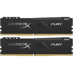HyperX Fury Black 64GB DDR4 3000MHz CL16 Kit Dual Channel