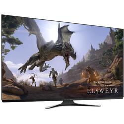 Alienware AW5520QF, OLED 55 inch, 4K, 0.5ms, 120Hz, Boxe, Negru