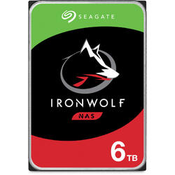 IronWolf 6TB SATA 3 5400RPM 256MB 3.5 inch