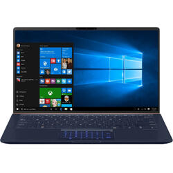 ZenBook UX433FAC, 14 inch FHD, Intel Core i7-10510U, 16GB, 512GB SSD, GMA UHD, Win 10 Pro, Royal Blue