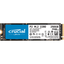 P2 250GB PCI Express 3.0 x4 M.2 2280