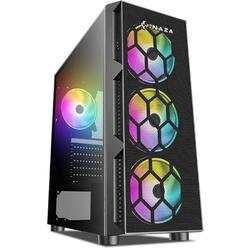 Starfire Tempered Glass RGB Neagra