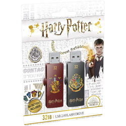 M730 32GB USB 2.0 Harry Potter Gryffindor & Hogwarts Set 2 bucati