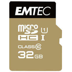 Micro SDHC 32GB UHS-I U1 Elite Gold