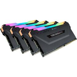 Vengeance RGB PRO 64GB DDR4 3200MHz CL16 Kit Quad Channel