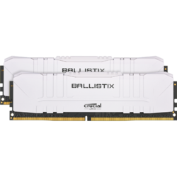 Ballistix DDR4 32GB 3000MHz CL16 Kit Dual Channel White