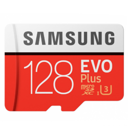 MicroSDXC, EVO Plus, 128GB, Clasa 10, UHS-1 + Adaptor SD