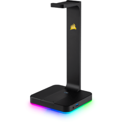 ST100 RGB Premium Headset Stand, 7.1 Surround integrat