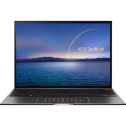 ZenBook S UX393EA, 13.9 inch 3.3K Touch, Intel Core i5-1135G7, 16GB DDR4X, 1TB SSD, Intel Iris Xe, Win 10 Pro, Jade Black
